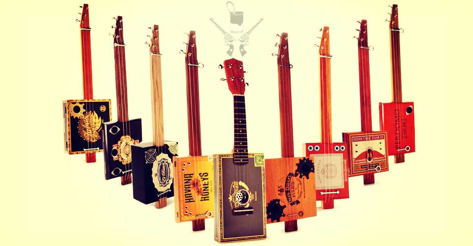 Soup Hunter Cigar Box Guitars Home Image